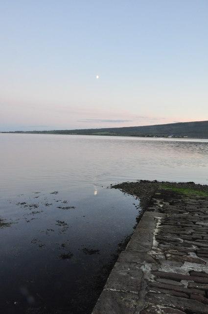Sunset Slipway Meikle Ferry