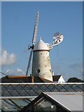 TQ6104 : Stone Cross Windmill by Oast House Archive