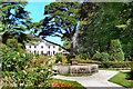 SW6430 : Trevarno Fountain & House by David Dixon