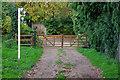 TQ5064 : Gates, Parkgate Farm by Robin Webster