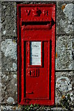 SO5101 : Victorian letterbox by Philip Halling