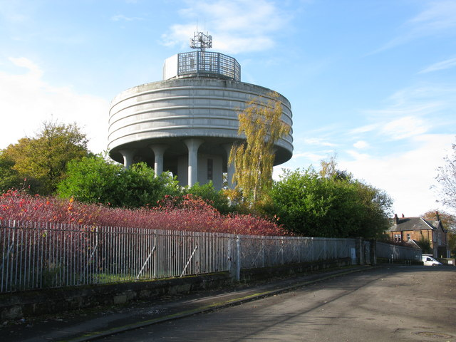 Bishopbriggs Water Tower by G Laird