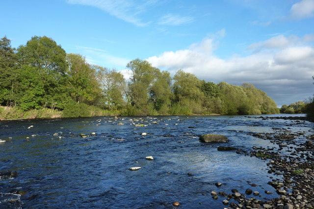 The River Tees near Manfield Scar