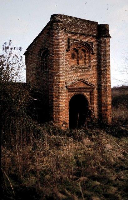 Ranworth Old Hall gatehouse / porch