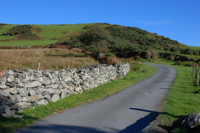 The Ffordd Ddu approaching Fridd Bryn-coch