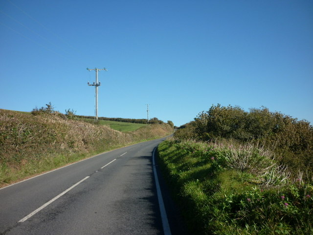 The B3205 Slappers Hill
