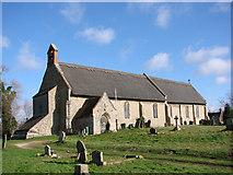 TM4369 : Westleton St Peter's church by Adrian S Pye