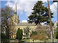 TM2749 : Woodbridge St John's church by Adrian S Pye