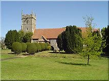 TM1938 : Woolverstone St Michael's church by Adrian S Pye