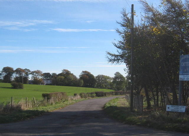Howlish Lane near Coundon Grange