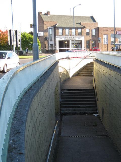 Subway, South Yardley