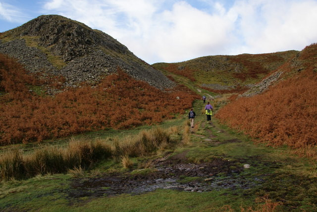 Another boggy patch on Loughrigg Fell