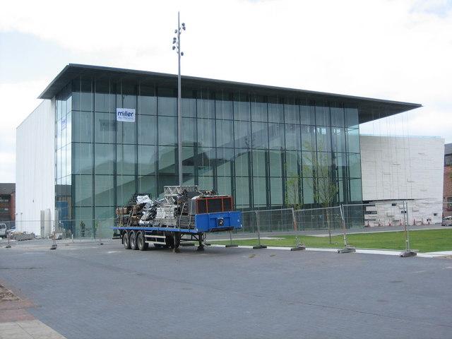 Middlesbrough Institute of Modern Art under construction