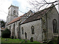 TG2033 : St Ethelbert's church in Alby by Evelyn Simak