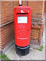 TM3877 : Thoroughfare Postbox on The Thoroughfare by Adrian Cable