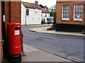 TM3877 : Thoroughfare Postbox and The Thoroughfare by Adrian Cable
