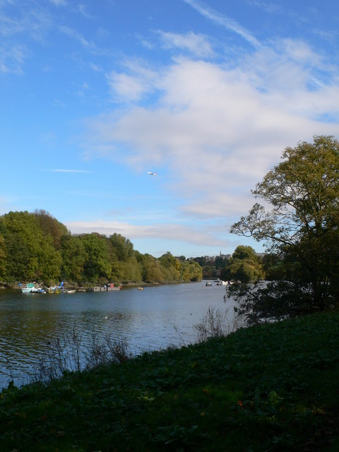 The Thames south of Richmond