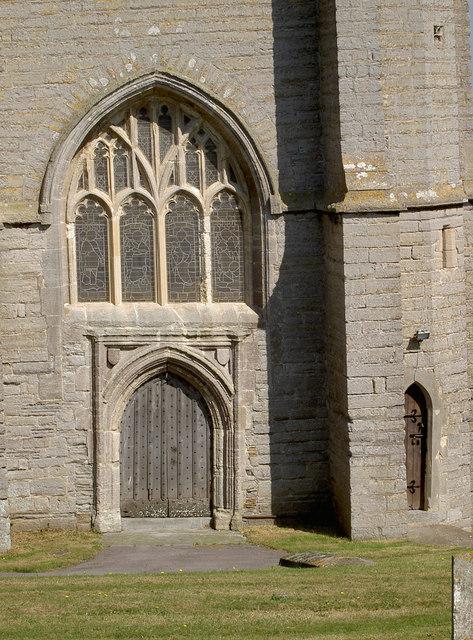 St Andrew's church west door