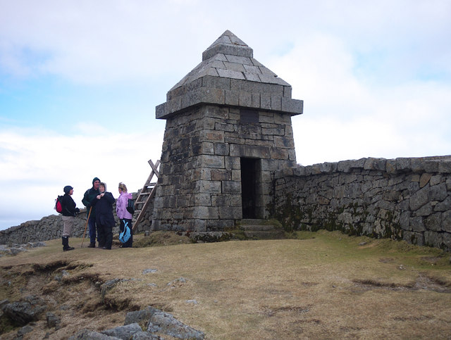 The Mourne Wall, Slieve Commedagh