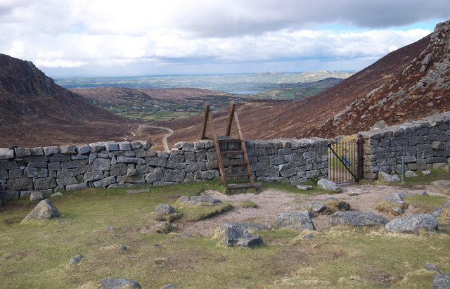 The Mourne Wall at the Hare's Gap