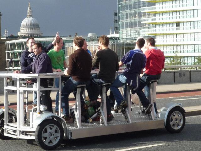Pedibus on London Bridge