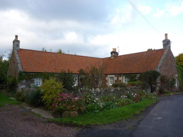 Rural East Lothian : Cottage at Markle Mains, near East Linton