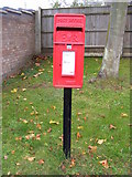 TM3876 : Bramfield Road Postbox by Adrian Cable