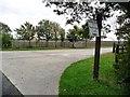 TL1973 : Private road to Weybridge Farm by Christine Johnstone