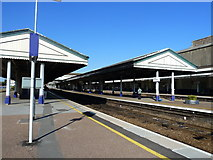 SX9193 : Exeter St. David's railway station by Ruth Sharville