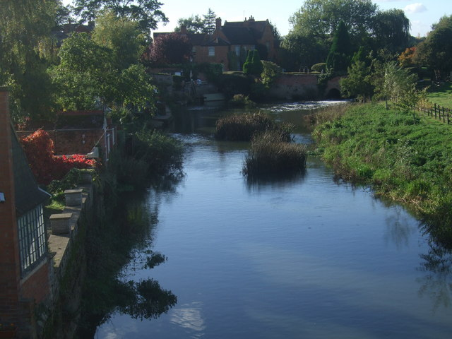 The Great Ouse at Newport Pagnell