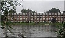 TQ1673 : Riverside flats near Eel Pie Island by N Chadwick