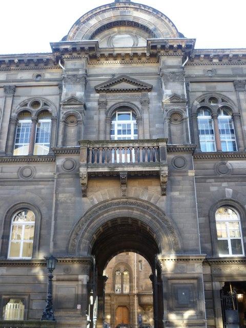 Edinburgh Medical School entrance