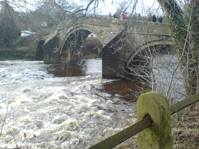 Ilkley Pack Horse Bridge