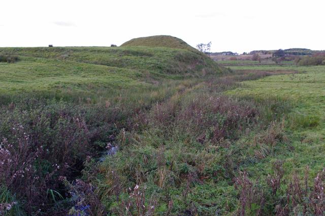 Castle Howe motte and bailey castle