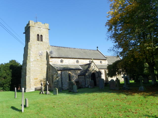 The Church of St Radegund, Scruton