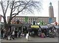 TG2208 : Norwich Market by Sandy B