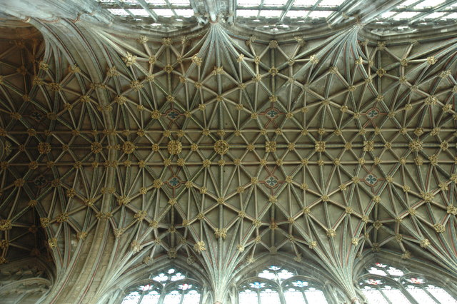 Fan Vaulting Gloucester Cathedral C Philip Halling