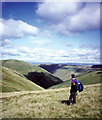SD6598 : Looking into West Grain, northern Howgills by Karl and Ali