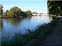 TQ1774 : The Thames Path at Richmond by Eirian Evans