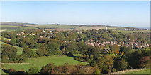 TQ3807 : View over Kingston Near Lewes by Oast House Archive