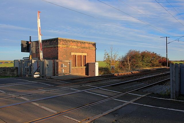 Disused Signal Box, Goswick Crossing