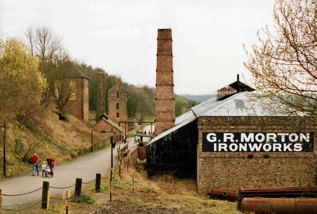 G.R Morton, Ironworks, Blists Hill Museum