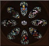 TQ3283 : St James, Prebend Street, London N1 - West window by John Salmon