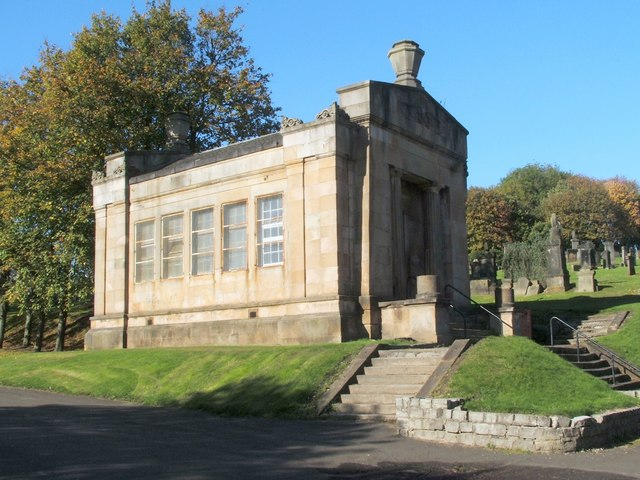 Lodge at Sighthill Cemetery