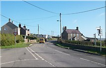 SH1727 : The B4413 at the junction with the Anelog and Uwchmynydd roads by Eric Jones