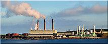D4201 : Ballylumford power stations, Islandmagee (3) by Albert Bridge