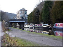 SD9926 : Rochdale Canal by Alexander P Kapp