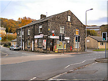 SD9321 : Walsden Post Office by David Dixon