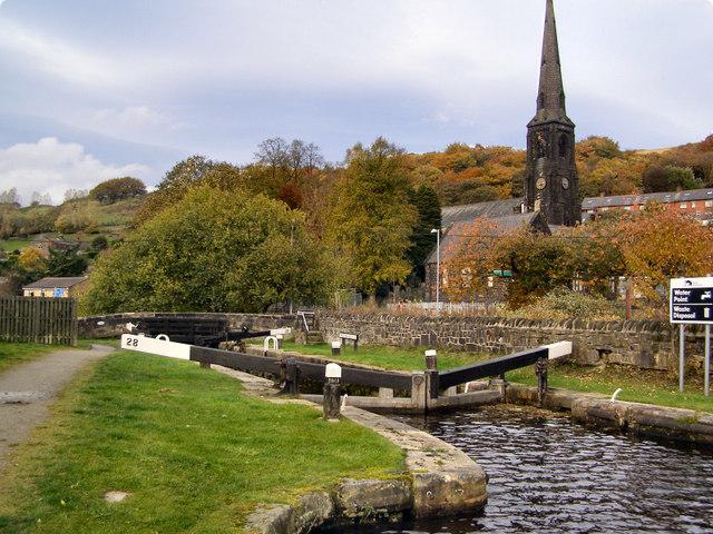 Rochdale Canal, Travis Mill Lock
