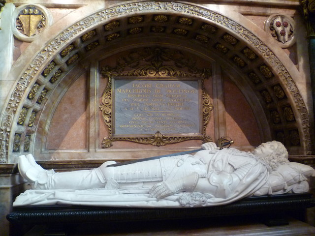 Marquis of Montrose's tomb, High Kirk of St. Giles